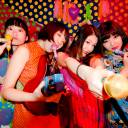 Punk on the move: The members of Otoboke Beaver are (from left) Pop, Yoyoyoshie, Accorinrin and Hiro-chan. Their abrasive style of rock has been winning fans overseas.