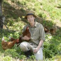 Born to be wild: Ikki Mukoyama, director of Kurofuji Farm, specializes in producing eggs and meat from free-range poultry. | IKKI MUKOYAMA