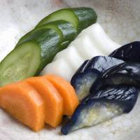 Nutritious and flavorful: Tsukemono, or pickled vegetables, are one of the pillar of the Tohoku samurai diet.   GETTY IMAGES