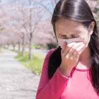 Bless you: Hay fever makes spring very uncomfortable for many in Japan. | GETTY