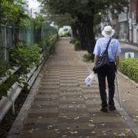The aging of Japan's population is creating societal challenges, including the 'lonely death' phenomenon involving elderly people whose passing goes unnoticed. | BLOOMBERG