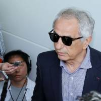 Fired Japan soccer boss Vahid Halilhodzic back in Japan seeking answers for ouster