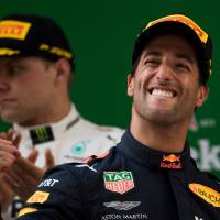 Red Bull's Daniel Ricciardo claims unlikely Chinese Grand Prix victory