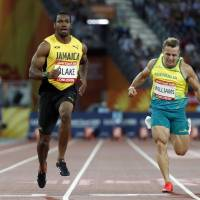 Yohan Blake coasts into 100-meter final at Commonwealth Games