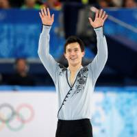 Patrick Chan, seen performing his free skate at the 2014 Sochi Winter Olympics, announced his retirement on Monday. | REUTERS