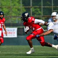 Versatile Trashaun Nixon impresses at running back as Frontiers down Pirates