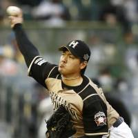 Fighters' Kohei Arihara fans nine batters en route to first victory of season