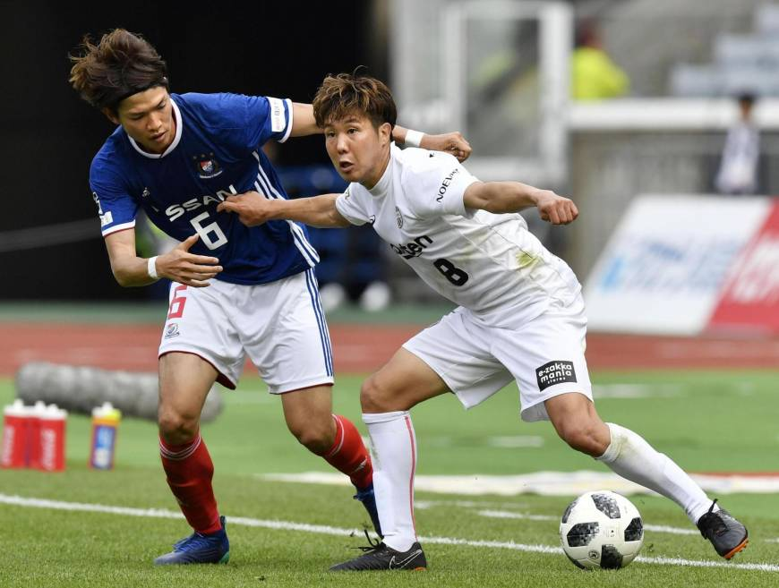 Vissel come from behind to beat Marinos