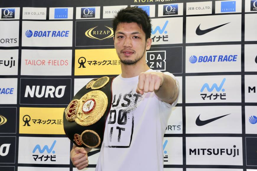 Ryota Murata happy with progress after successful first title defense