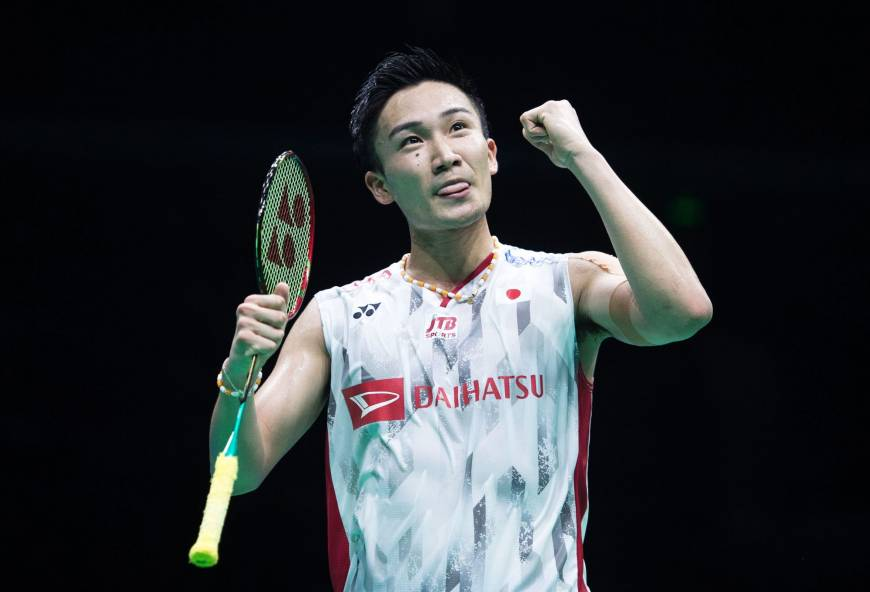 Kento Momota Stuns Olympic Gold Medalist To Win Badminton Asian Title