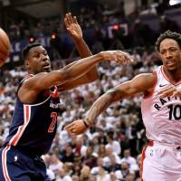 DeRozan leads Raptors into uncharted territory