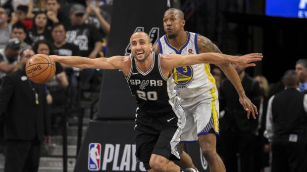 Ginobili carries Spurs in Game 4