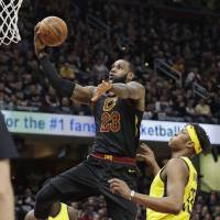 LeBron James takes control as Cavs outlast Pacers in Game 7