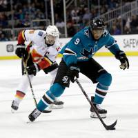 Sharks' Evander Kane eager for first playoffs in ninth season