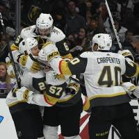 Golden Knights complete sweep of Kings