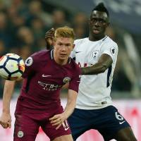 City closes in on title with victory over Spurs