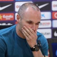 Andres Iniesta to leave Barca after season
