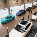 Imported cars are displayed at a showroom in Nantong, in China's eastern Jiangsu province, on Tuesday. China announced the same day that it would cut tariffs on auto imports from July 1, in the latest sign of a thaw in trade frictions with the United States.