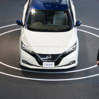 Nissan aims to double sales of Leaf EV in Japan