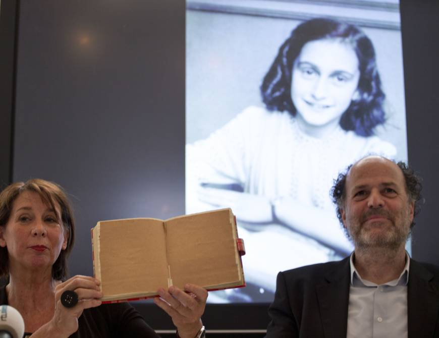 'An ordinary girl': Hidden pages in Anne Frank's diary reveal corny jokes and sex ed