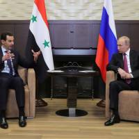 Assad travels to Russia to meet with Putin, cites progress in war on 'terrorism'