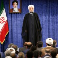Iranian President Rouhani to attend security summit in China amid nuclear deal doubts