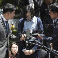 'Nut rage' Korean Air heiress now questioned for illegal maids