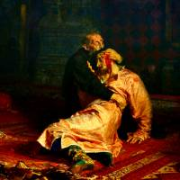 Famous Russian painting damaged in vodka-fuelled attack