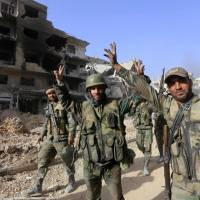 Syrian regime declares Damascus to be fully under its control, purged of Islamic State