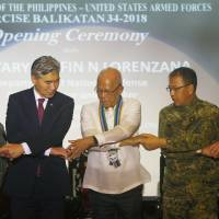 U.S. and Philippines launch largest military drills under Duterte