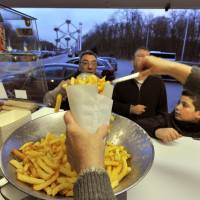 Belgium's new <I>frites</I> stands are more than just a chip off the old block
