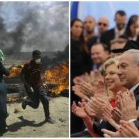 Israeli forces kill 55 protesters on Gaza border as U.S. Embassy opens in Jerusalem