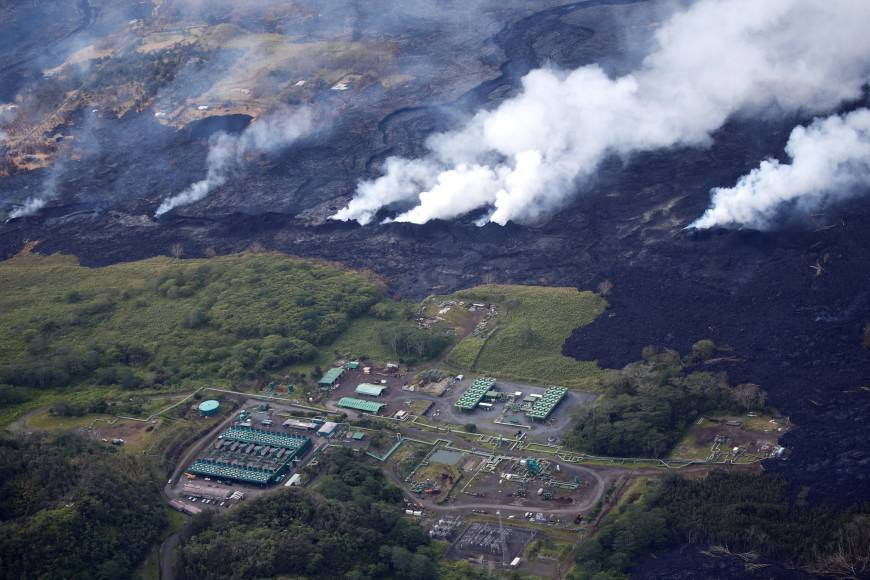 Explosions feared as lava threatens to cover more wells at Hawaii geothermal plant