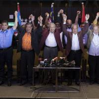 Mahathir, 92, achieves shock poll win, toppling regime in power since Malaysia's founding