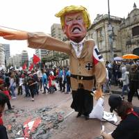 Chaos, clashes and color mark May Day rallies across the globe