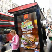 Billboards advertising junk food from vendors like McDonald's might be banned from London's Underground rail and bus network under new plans announced by the city's mayor, Sadiq Khan, as part of his efforts to tackle rising levels of childhood obesity in the capital. | REUTERS