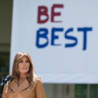 Melania Trump launches 'BE BEST' awareness campaign for kids, targets cyberbullying, drugs