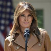 Weeks out of public view, first lady Melania Trump tweets she's 'feeling great'