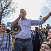 Russian protest leader Alexei Navalny released after anti-Putin rally
