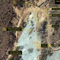 Satellite imagery shows first evidence of buildings being dismantled at North Korean nuclear test site, monitor says