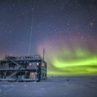 This undated photo provided by NOAA in May shows the aurora australis near the South Pole Atmospheric Research Observatory in Antarctica. When a hole in the ozone formed over Antarctica, countries around the world in 1987 agreed to phase out several types of ozone-depleting chemicals called chlorofluorocarbons (CFCs). Production was banned, emissions fell and the hole shriveled. But according to a study released on Wednesday, scientists say since 2013, there's more of a banned CFC going into the atmosphere. | PATRICK CULLIS / NOAA / VIA AP
