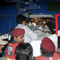 Pakistan interior minister shot, wounded in suspected assassination bid
