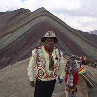 Tourists flock to Peru's newfound 'Rainbow Mountain,' boosting indigenous community