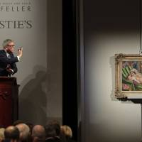 Rockefeller artworks and other treasures break record for single-owner auction