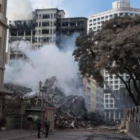44 missing in Sao Paulo squatter-building blaze and collapse: firefighters