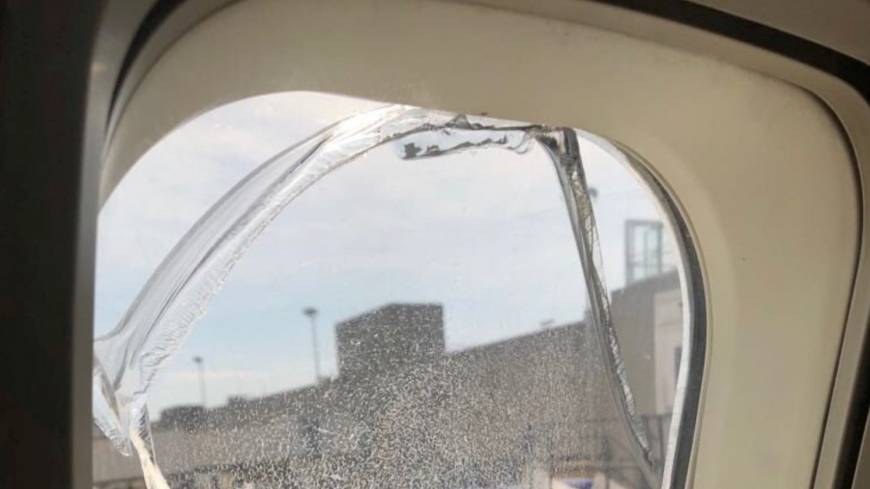 Passengers heard window popping on southwest jetliner before passengers heard window popping on southwest jetliner before emergency landing the japan times malvernweather Image collections