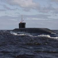 Russia reports successful test-firing of four ICBMs in salvo from sub in White Sea
