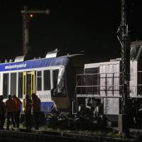 As least two killed as trains collide in southern Germany: media