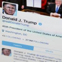 Trump blocking critics on Twitter violates Constitution: U.S. judge