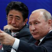 Abe and Putin set to hold summit on isle projects but may also address North Korea